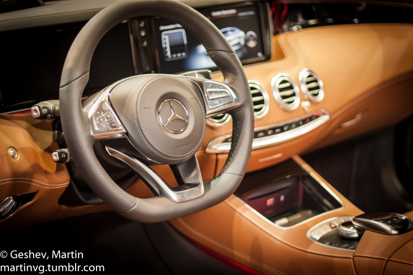 Mercedes S Class Coupe Interior