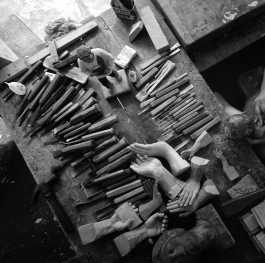 Paete woodcarving