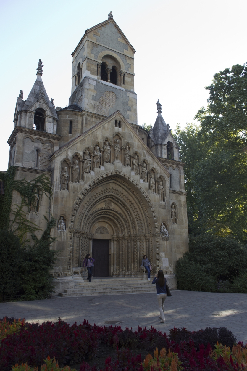 Old church in Budapest