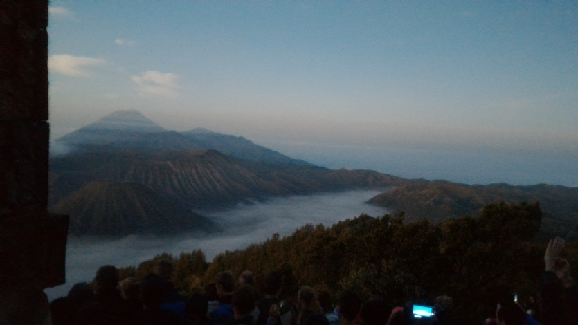 Goes to BROMO