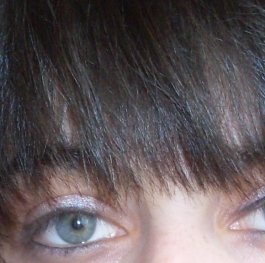 My green eyes...