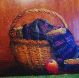 Basket from the village