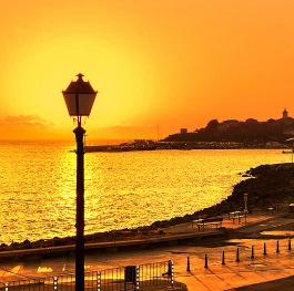 Nesebar by Sunrise
