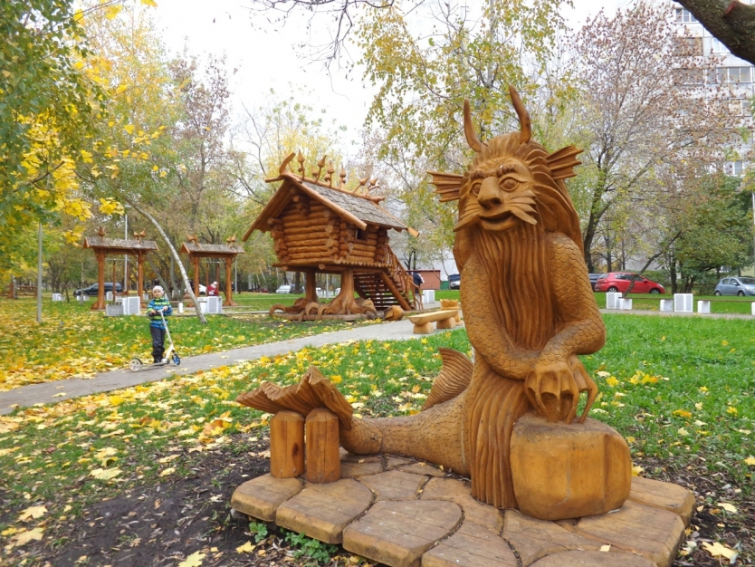 Fairy WoodLand in Moscow