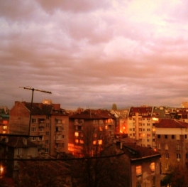 Sofia sunset