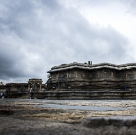 A Beautiful view of Chennakeshava Temple