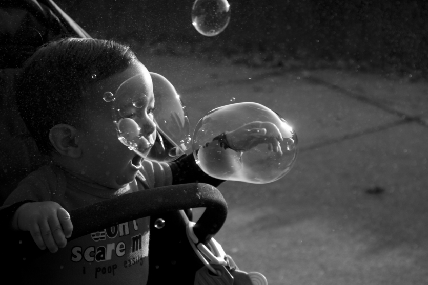 Gregor and his bubbles