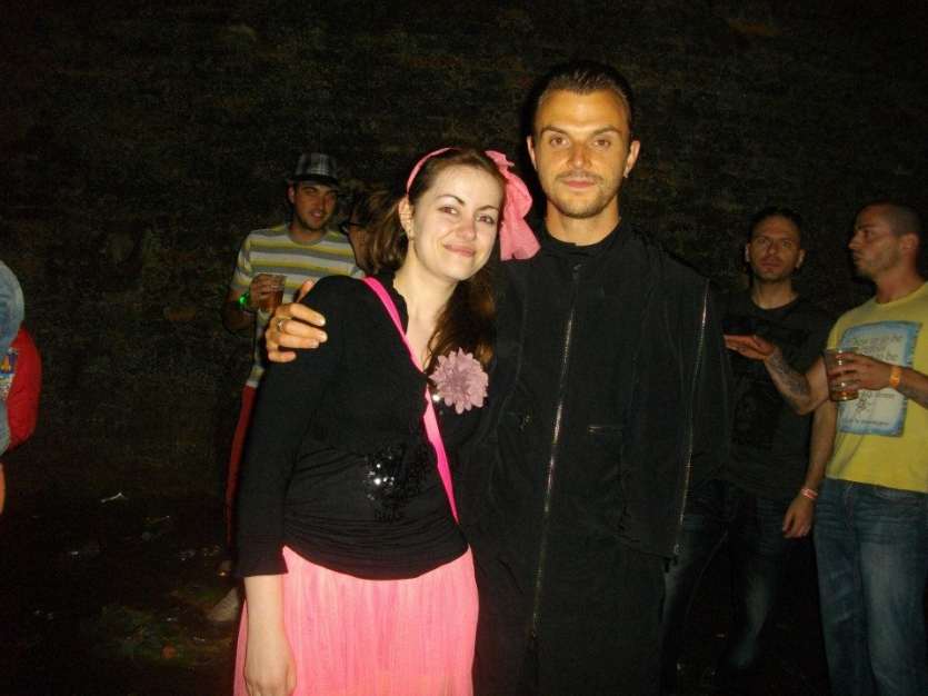 Theo Hutchraft from Hurts and Me <3 Exit music festival 2014