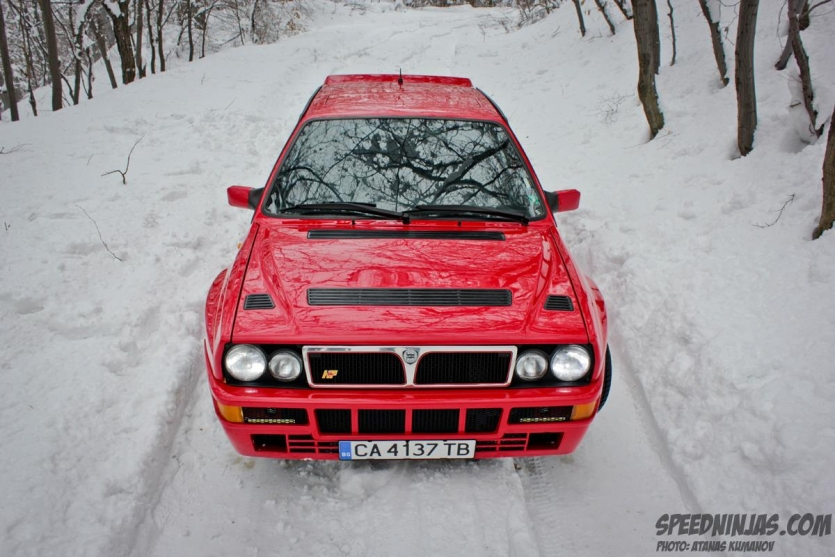 This is my Lancia Delta