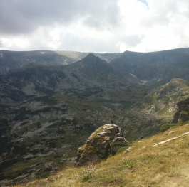 One of the seven Rila lakes