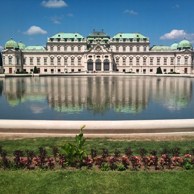 Belvedere palace and museum - Vienna