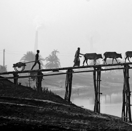 WORKERS' WINTER MORNING