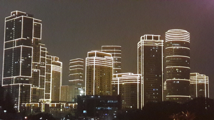 Lighted Buildings