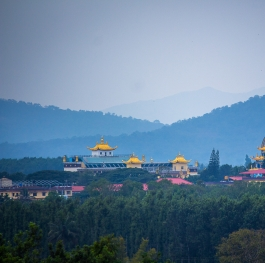 A Beautiful view of Monastery