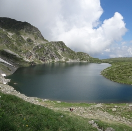 one of seven Rila lakes....