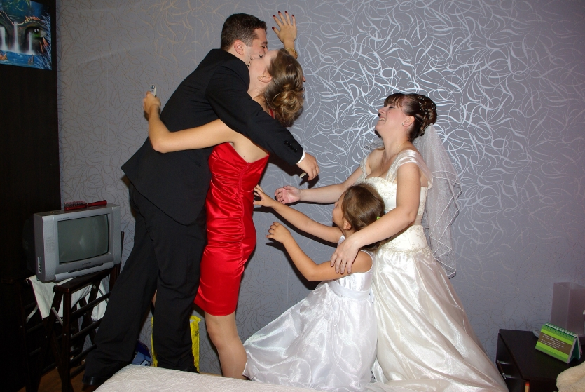 After all give me the bride! She is mine!