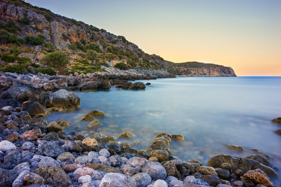 Rocky Coast near Monemvasia
